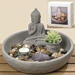 Set cadou lumanare Buddha_25 cm_moadeco 1
