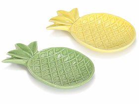 Placa ceramica forma ananas 1