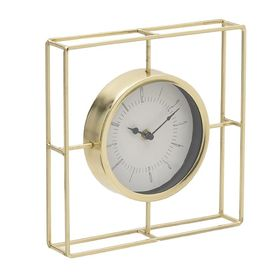 Ceas metalic auriu 1